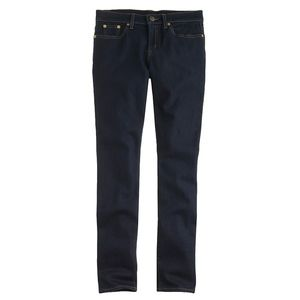J. Crew Resin Rinse Ever Stretch Toothpick Jeans